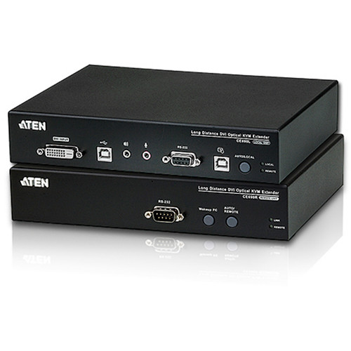 ATEN CE690 Long Distance DVI Optical KVM Extender