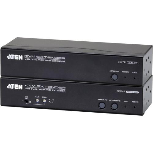 ATEN CE774 Dual View KVM Extender