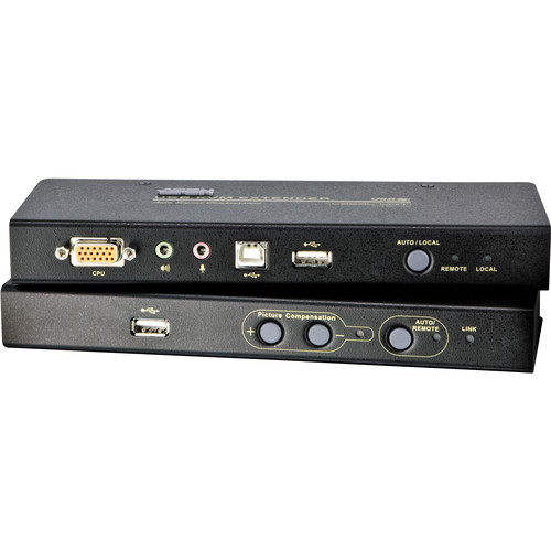 ATEN CE800B USB KVM Extender with On-Board Audio