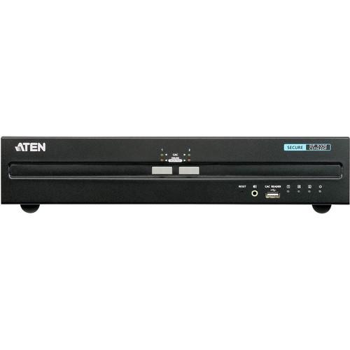 ATEN 2-Port USB DisplayPort Dual-Display Secure KVM Switch
