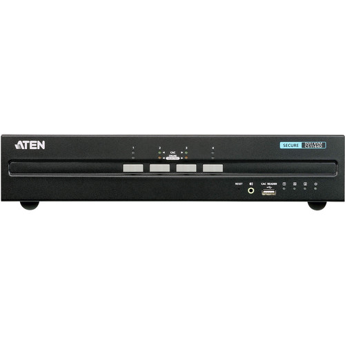 ATEN 4-Port USB DVI Dual-Display Secure KVM Switch