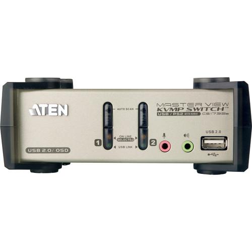 ATEN 2-Port USB 2.0 KVMP Switch with OSD
