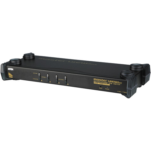 ATEN CS1754 4-Port PS/2 - USB KVM Switch
