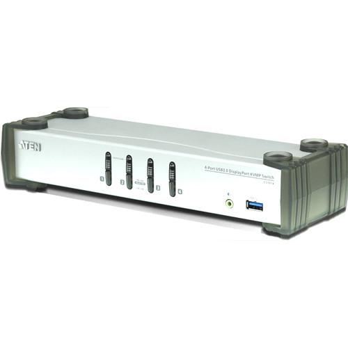 ATEN 4-Port USB 3.1 Gen 1 DisplayPort KVMP Switch