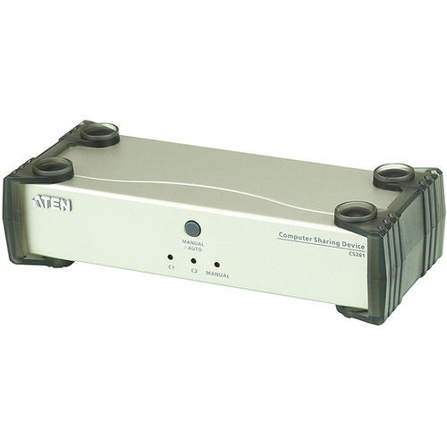 ATEN DVI Single Link Computer Sharing Device