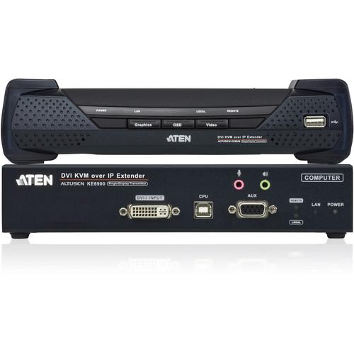 ATEN KE6900 DVI KVM Over IP Extender