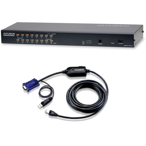 ATEN 16-Port KVM over IP Switch with Cables