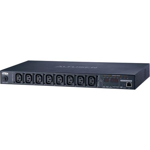 ATEN PE6108B 8-Outlet 15A/12A Power Distribution Unit (IEC)