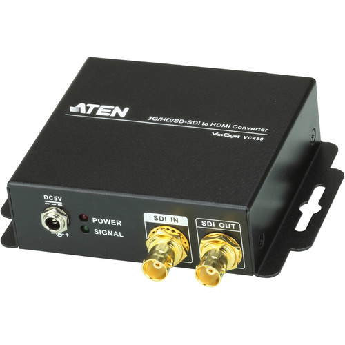 ATEN VC480 3G/HD/SD-SDI to HDMI Converter