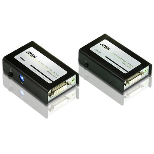 ATEN VE602 DVI Dual Link Extender Set with Audio (200')