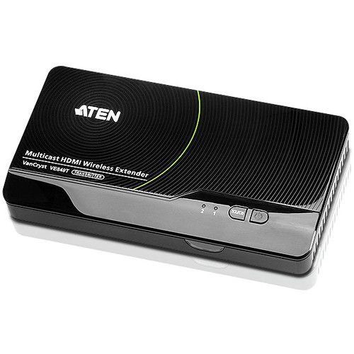 ATEN Multicast HDMI Wireless Transmitter for Up to 4 VE849R Receivers (100')