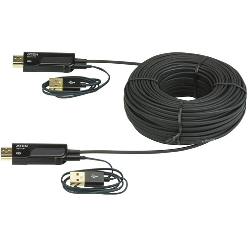 ATEN VE875 HDMI Active Optical Cable (328.1 ft)
