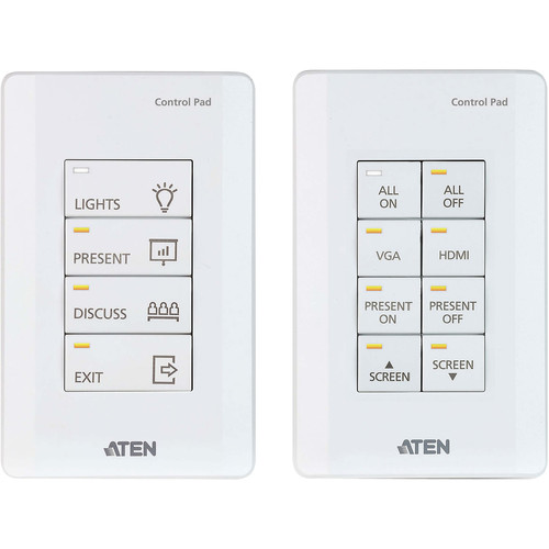 ATEN 8-Button Control System Pad