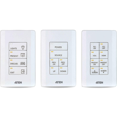 ATEN 8-Button Keypad for ATEN Control System (US, 1 Gang)