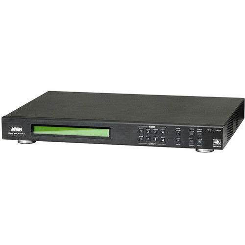 ATEN VM6404H 4x4 4K HDMI Matrix Switch with Scaler