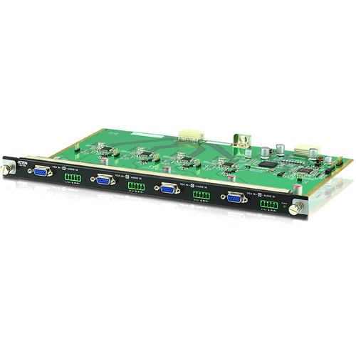 ATEN 4-Port VGA Input Board for VM1600 Modular Matrix Switch