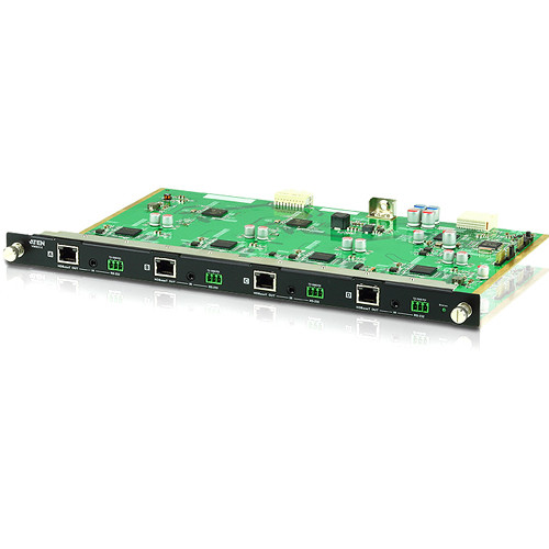 ATEN 4-Port HDBaseT Output Board for VM1600 Modular Matrix Switch
