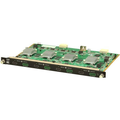 ATEN VM8814 4-Port 4K HDMI Output Board with Scaler