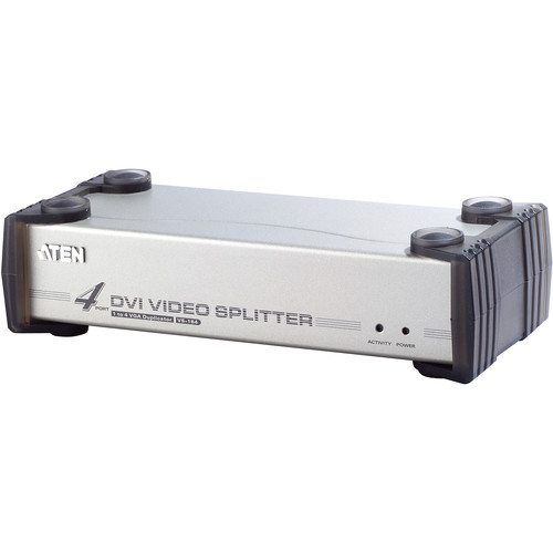 ATEN VS164 4-Port DVI Video KVM Splitter