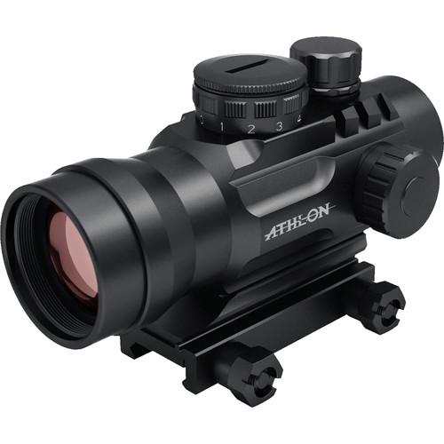 Athlon Optics Midas BTR RD12 1x30 Red Dot Sight (4 Red Illuminated Reticles, Matte Black)
