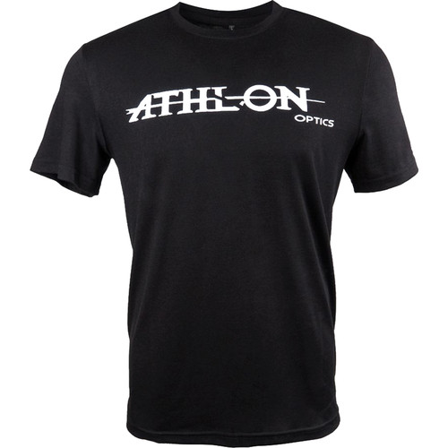 Athlon Optics Logo T-Shirt (Extra-Large, Black)