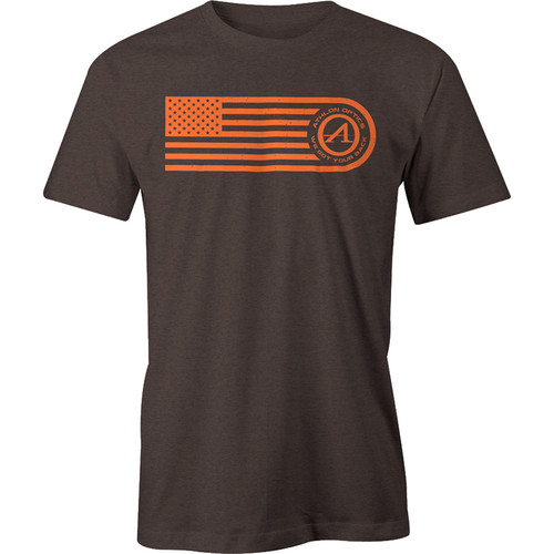 Athlon Optics Flag T-Shirt (Brown, XXL)