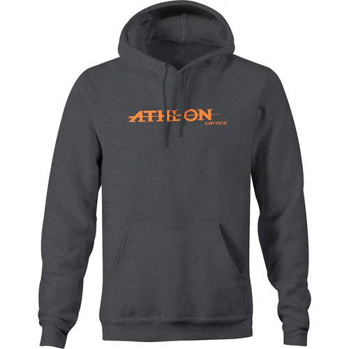 Athlon Optics Logo Hoodie (Gray, Large)