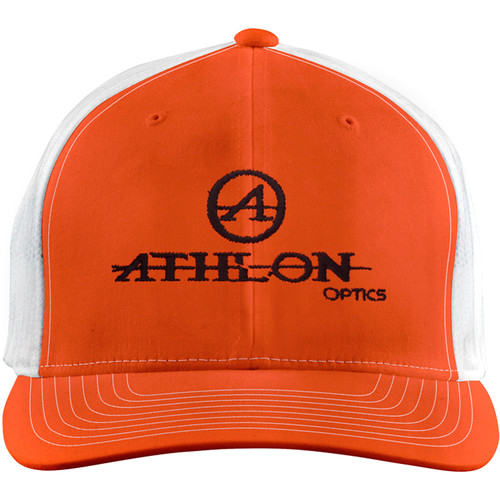 Athlon Optics Logo Trucker Hat (Hunter Orange)