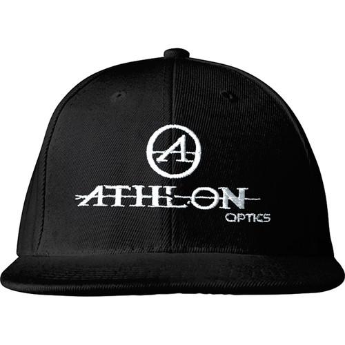 Athlon Optics Logo Flatbill Hat (Black)