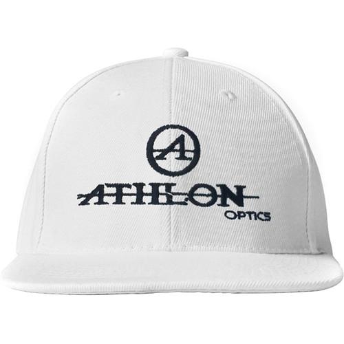 Athlon Optics Logo Flatbill Hat (White)