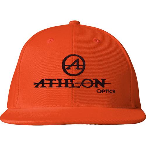 Athlon Optics Logo Flatbill Hat (Hunter Orange)
