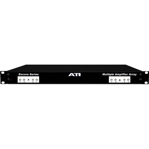 ATI Audio Inc MLA800-1HC High-Current 8-Channel Line Amplifiers with Transformer Balanced Outputs (1RU)