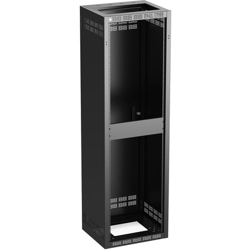 Atlas Sound 140-18 Stand-Alone Floor Cabinet with Fixed Rails (40 RU)