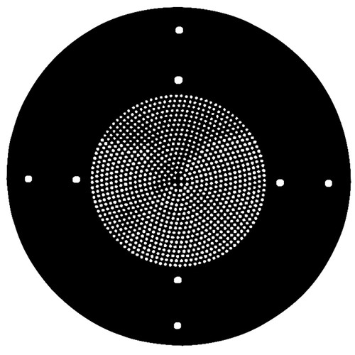 "Atlas Sound Utility Steel Baffle (8"", Black)"