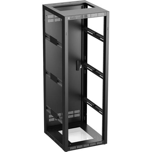 "Atlas Sound 535-25-MPRD Rack with Perforated Rear Door (25"", 35 RU)"