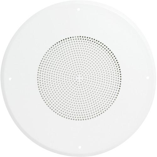 "Atlas Sound General Purpose Steel Baffle with Hyfidrophobic Treatment (White, 8"")"