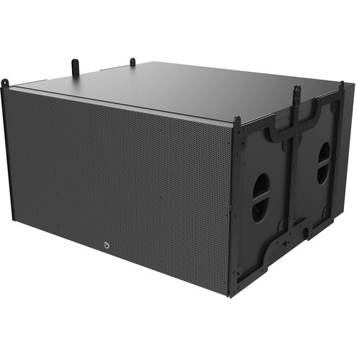 "Atlas Sound A-Line AL218A-B - Dual 18"" Powered Subwoofer Enclosure"