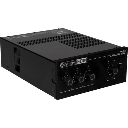 Atlas Sound AA35G 3-Input 35W Mixer Amplifier