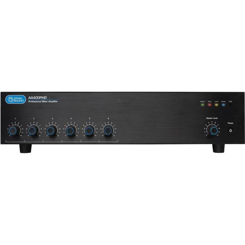 Atlas Sound AA400PHD 6-Channel 400W Mixer Amplifier