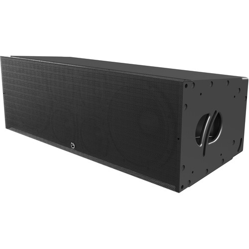 "Atlas Sound AL123A-B Dual 12"" 3-Way Powered Large Format Line Array Speaker (3600W RMS)"