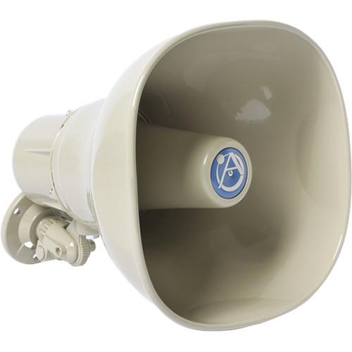 Atlas Sound AP-15TC Horn Loudspeaker with 25/70.7/100V-15W Transformer (Beige)
