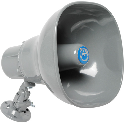 Atlas Sound AP-15TUC Omni-Mount Emergency Horn Loudspeaker (Gray)