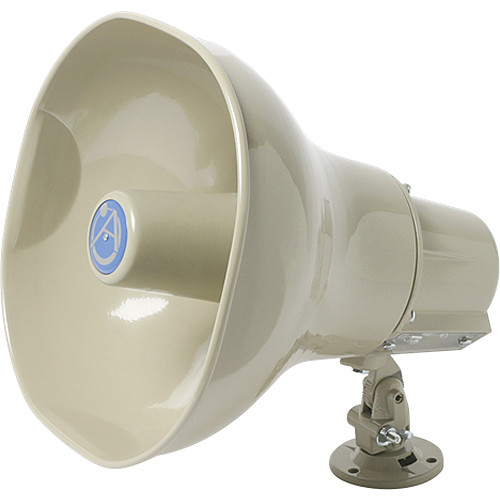 Atlas Sound AP-30TC 30W Horn Loudspeaker with 25V/70.7V/100V Transformer (Beige)