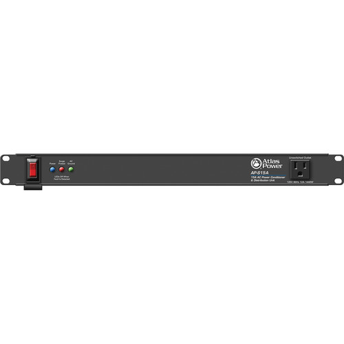 Atlas Sound AP-S15A 15A Power Conditioner and Distribution Unit with IEC Power Cord