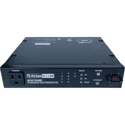 Atlas Sound 1/2 Rack IP Addressable Power Distribution Unit