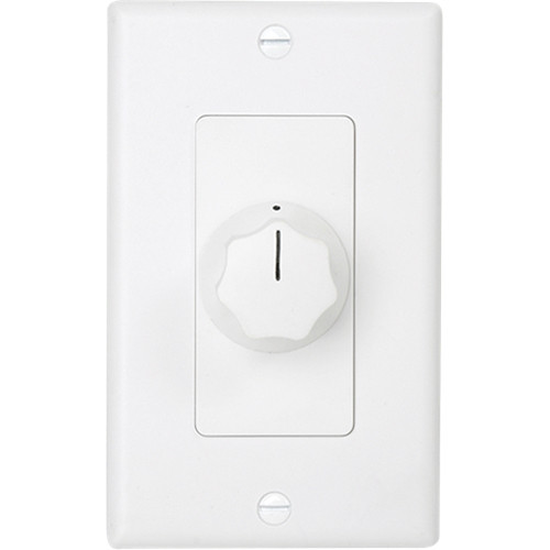 Atlas Sound AT10D Deluxe Decora Plate Mounted 10W Attenuator (White)