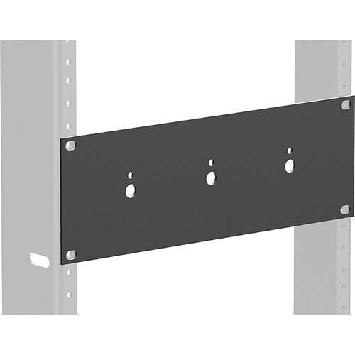 Atlas Sound ATPLATE-HR Half-Rack Mounting Plate for 3 RM Attenuators