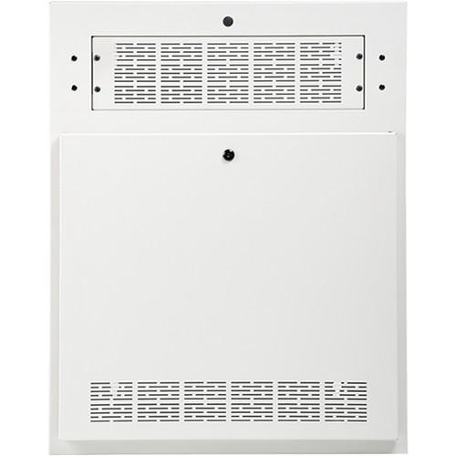 Atlas Sound AWR2W-HR 2 RU Wallmount Tilt-Out Half-Width Rack Cabinet