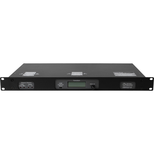 Atlas Sound 2-Channel Digital Sound Masking Processor and Amplifier with TCP/IP Network Input