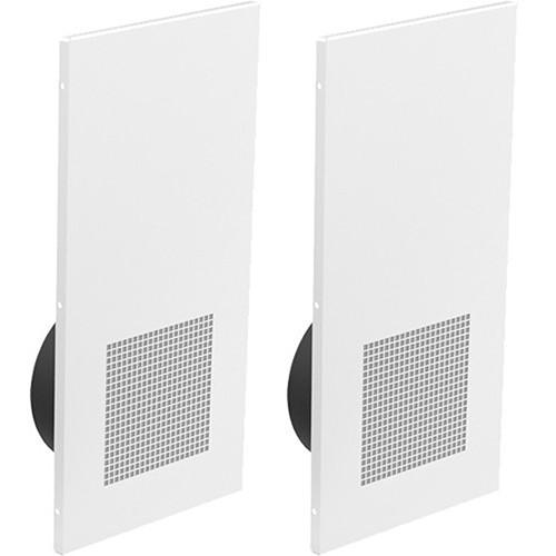"Atlas Sound DT21 Drop-Tile 8"" Speaker System (Pair, 1' x 2', White)"